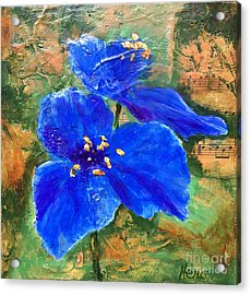 Blue Rhapsody Acrylic Print