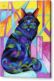 Blue Rhapsody Acrylic Print by Sherry Shipley