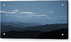 Blue Ridge Blue Acrylic Print