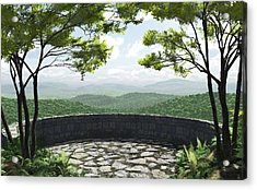 Blue Ridge Acrylic Print