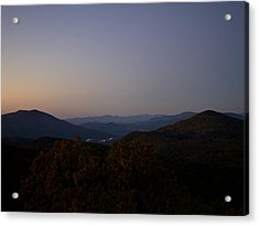 Blue Ridge Dawn Acrylic Print