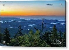 Blue Ridge Mountains Sunrise Acrylic Print