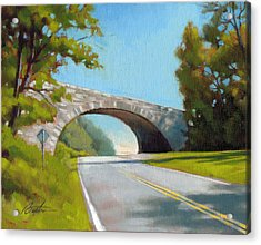 Blue Ridge Overpass Acrylic Print by Todd Baxter