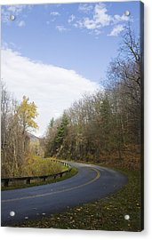 Acrylic Print featuring the photograph Blue Ridge Parkway by Alan Raasch