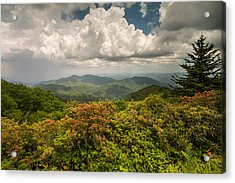 Blue Ridge Parkway Green Knob Overlook Acrylic Print