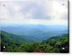 Blue Ridge Parkway Overlook Acrylic Print