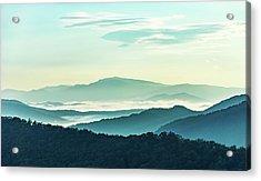 Blue Ridge Pastel Acrylic Print