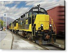 Blue Ridge Southern 3940 On The Move 2 Acrylic Print