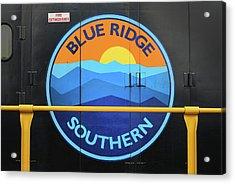 Blue Ridge Southern Emblem Acrylic Print