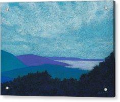 Blue Ridges 3 Acrylic Print