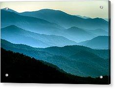 Blue Ridges Acrylic Print