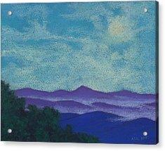 Blue Ridges Mist 1 Acrylic Print