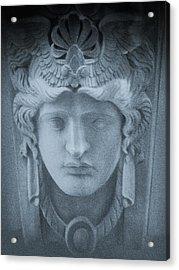 Blue Roman Acrylic Print