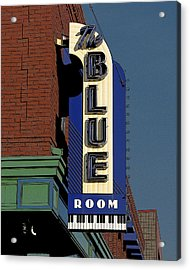 Blue Room Acrylic Print by Jim Mathis