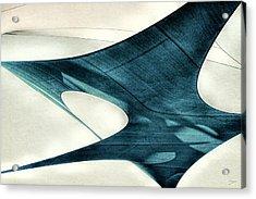 Blue Sails Acrylic Print