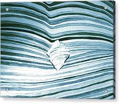 Blue Sea Acrylic Print by Constance Larimer