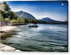 Blue Sea Acrylic Print