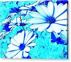 Blue Season Acrylic Print by Ingrid Dance