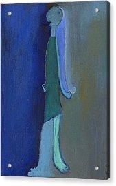 Blue Shadow Acrylic Print by Ricky Sencion