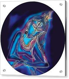 Blue Shiva Light Acrylic Print