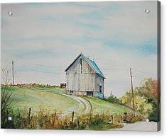 Blue Skies Acrylic Print by Mike Yazel