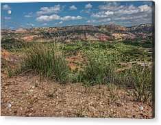 Blue Skies Over Palo Duro Canyon Acrylic Print