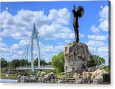 Blue Skies Over Wichita Acrylic Print by JC Findley