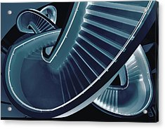 Blue Stair Acrylic Print