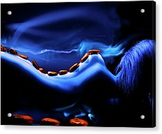 Blue Stone Dream Acrylic Print by Catalin Anastase