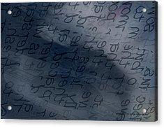 Blue Talk Acrylic Print