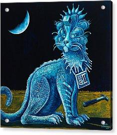 Blue Testament Acrylic Print