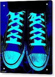 Blue-tiful Acrylic Print by Ed Smith
