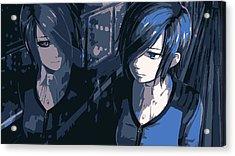 Blue Touka Acrylic Print