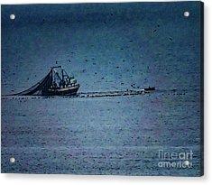 Blue Trawler 1 Acrylic Print