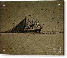 Blue Trawler 2 Acrylic Print