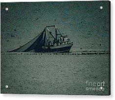 Blue Trawler 3 Acrylic Print