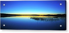 Blue Twilight 1 Acrylic Print by ABeautifulSky Photography