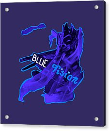 Blue Vision Acrylic Print