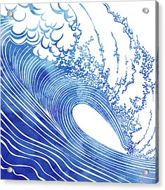 Blue Wave Acrylic Print