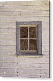 Blue Window Acrylic Print by JAMART Photography