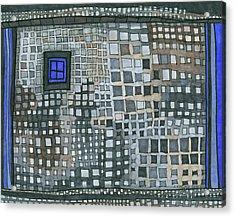 Blue Blue Windows Acrylic Print