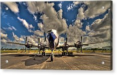 Blue Yonder Acrylic Print by William Wetmore