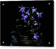 Acrylic Print featuring the photograph Bluebells by Alexey Kljatov