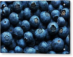 Blueberries Background Close-up Acrylic Print