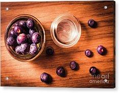 Blueberry Kitchen Still Life Acrylic Print