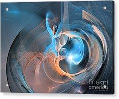 Blueberry Soul Acrylic Print