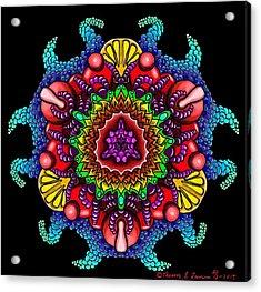 Blueberryflower Acrylic Print