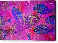Bluefish Mascara - Maurada - Food Chain Acrylic Print
