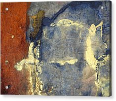 Bluegold 3 Acrylic Print