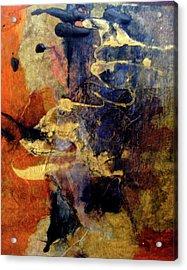 Bluegold 4 Acrylic Print